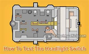 1966 Ford Headlight Switch Wiring Diagram