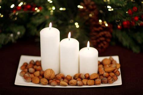 Diy Christmas Candle Centerpieces
