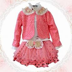 2019 Baby Girls Dresses Clothing Sets Outwear +t Shirt+skirtchildren's Skirts  From Fashion