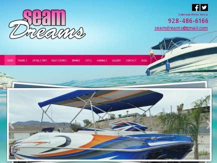 Boat Upholstery Lake Havasu by Seam Dreams Fabric Boat Covers Lake Havasu City Az