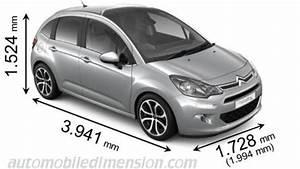 C3 Air Cross Dimensions : dimensions des voitures citro n avec longueur largeur et hauteur ~ Medecine-chirurgie-esthetiques.com Avis de Voitures