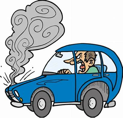 Clipart Engine Cars Driving Esl Overheating Clip