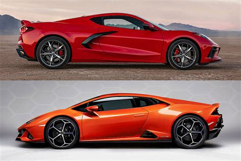 General motors is gunning for ferrari with its newest redesign of the chevrolet corvette — the 2020 stingray unveiled thursday night. 2020 Chevrolet Corvette vs. 2020 Lamborghini Huracan: Which Is Better? - Autotrader
