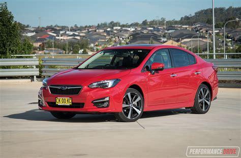 Subaru The by 2017 Subaru Impreza Review Performancedrive