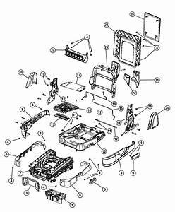 Dodge Grand Caravan Swivel Mechanism  Second Row Seat