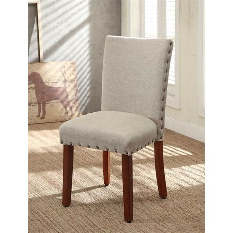 nail parsons chairs set of 2