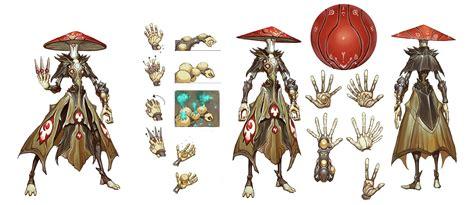 eldrid character design battleborn