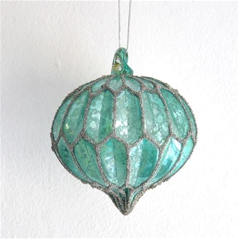 turquoise and silver decorations antique style turquoise christmas tree decoration