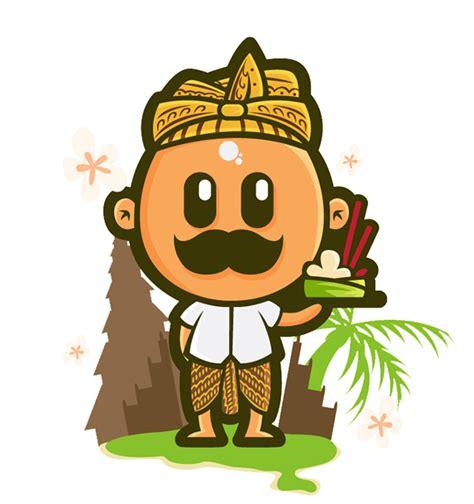 mustache indonesian culture  behance