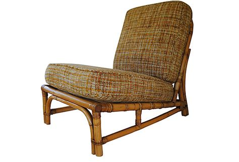 bamboo dining chair vintage bamboo slipper chair