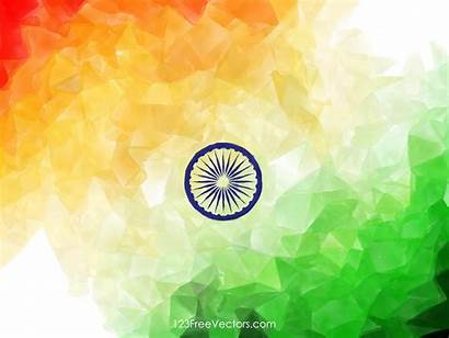 Flag Indian Watercolor India Wallpapers Abstract Vector