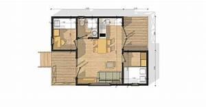 maison de jardin avec ossature bois versailles 35 m2 35 m2 With maison bois sur plots 6 habitats modulaires