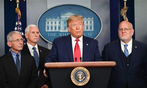 Trump, Pence Provide Coronavirus Update, Announce Peace ...