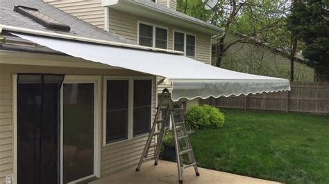 motorized awnings costco    sunsetter cost