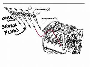 Where Are The Spark Plugs Located On A 1999 Ford 5 4 Liter Engine In A F150 Conversion Van And