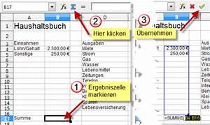 Open Office Summe Berechnen : libreoffice openoffice calc einsteigertutorial computer treff ~ Themetempest.com Abrechnung
