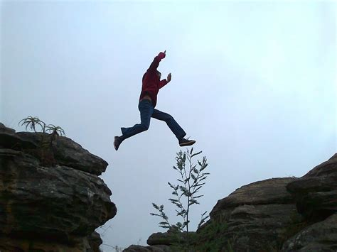 Leap Jump Chasm · Free photo on Pixabay