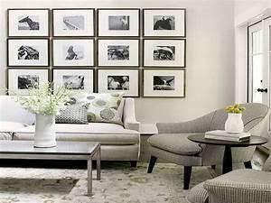 Grey artwork for elegant living room idea create art