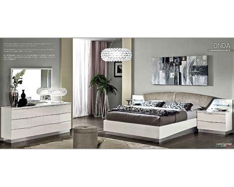 modern bedroom set onda  white color