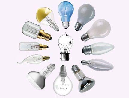 Обзор основных типов ламп какие виды лампочек бывают + как выбрать лучшую