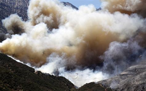 More Than 1,500 Battle Monster California Wildfire  Nbc News