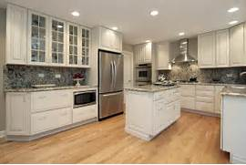 Delectable White Kitchen Cabinets Slate Floor Gallery Background For This Kitchen The White Traditional Style Kitchen