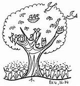 Mustard Tree Seed Coloring Parable Clip Clipart Pages Sunday Crafts Activities Faith Bible Craft Lesson Parables Church Lessons Clipartkid Children sketch template