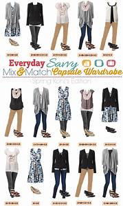 Kohl39s Spring Capsule Wardrobe Mix And Match Outfits