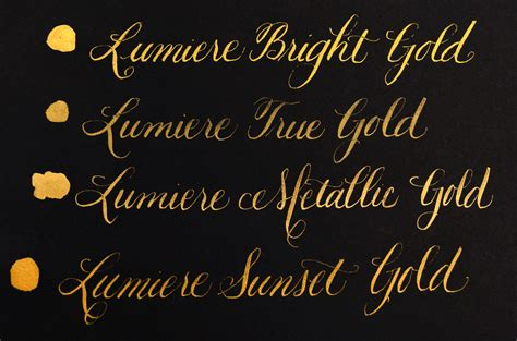 Golds! Golds! Glorious Golds!!  Paper And Ink Arts Blog