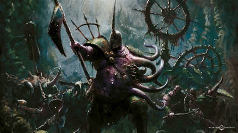 The Nurgle Lord of Blights Joins the Fray - Bell of Lost Souls