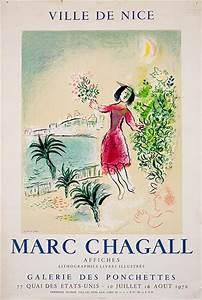 Bibliotheque De Nice : chagall posters marc chagall posters original chagall ~ Premium-room.com Idées de Décoration