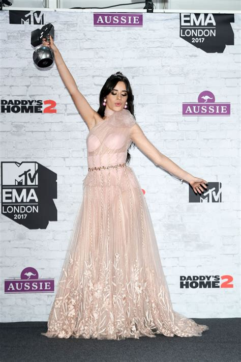 Camila Cabello Mtv Europe Music Awards London