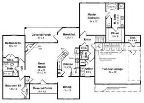 ranch style homes with open floor plans ranch style homes the ranch house plan makes a big comeback