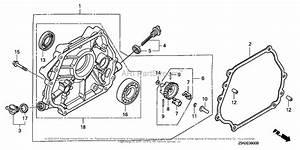 Honda Engines Gx270ut Vkx4 Engine  Tha  Vin  Gcajt
