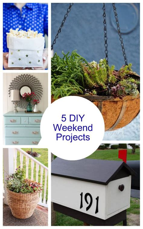 images  diy long weekend projects
