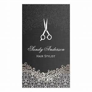 Premium fashion business card templates for Hair stylist business card designs