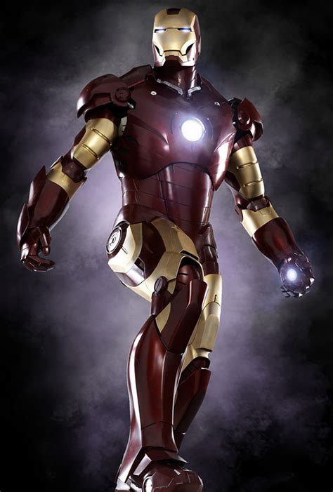 final iron man armor revealed updated  high res