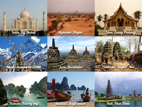 best places to go travelling best countries to travel in asia places to visit