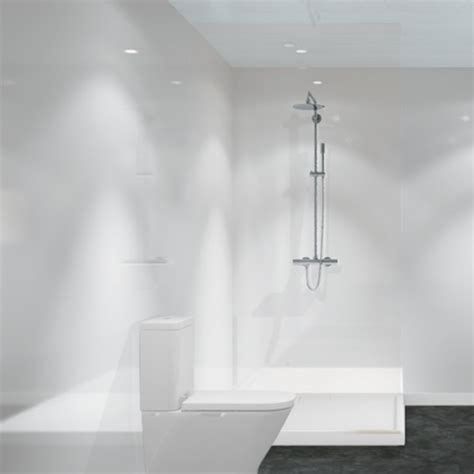 white shower panels white wall panel walls and ceilings