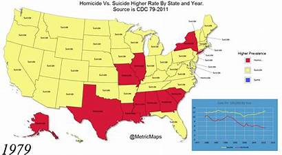 Suicide Vs State Homicide 1979 Prevalence Commons