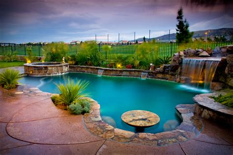 create  serene backyard oasis alan jackson pools
