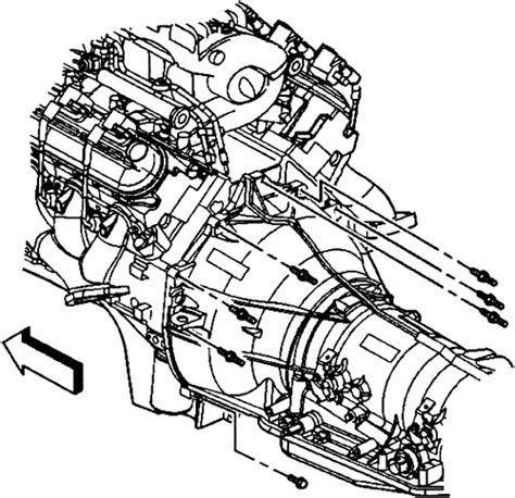 2000 Chevy Tahoe Transmission Diagram by Repair Guides