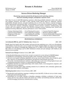 marketing research manager resume b2b marketing manager resume