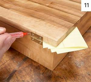 How to Make a Basic Jewelry Box from Scratch