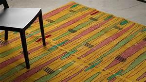 tapis haut de gamme vintage zeki muren en laine jaune With tapis laine vintage