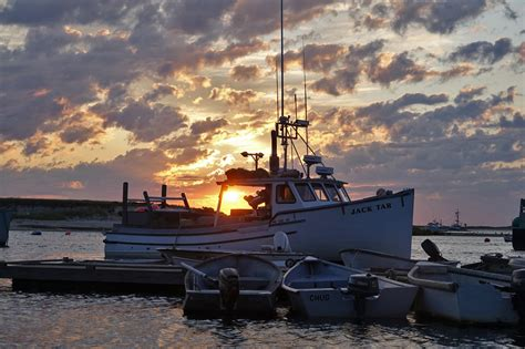 September Sunrise At Chatham Fish Pier