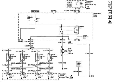 99 Gmc Sonoma Wiring Diagram i an injector on a 99 sonoma 4 cylinder thats