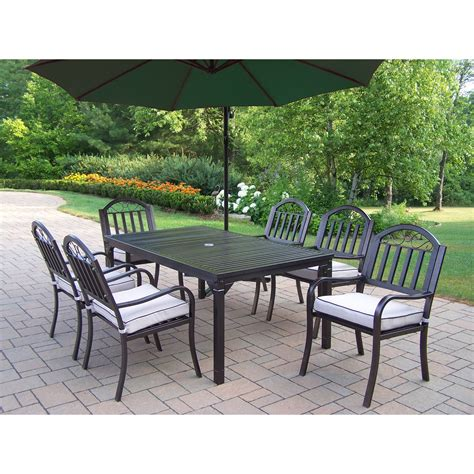 Oakland Living Rochester 67 X 40 In Patio Dining Set With. Great Patio Ideas Designs. Aluminum Patio Furniture With Straps. Patio Furniture Fenwick Island Delaware. White Patio Table Target. John Lewis Patio Table And Chairs. Patio Umbrella Clearance Walmart. Grey Patio Table Umbrella. Outdoor Wicker Furniture Adelaide Cheap