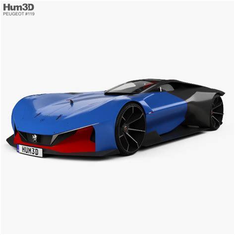 Peugeot L500 R Hybrid 2017 3d Model Hum3d