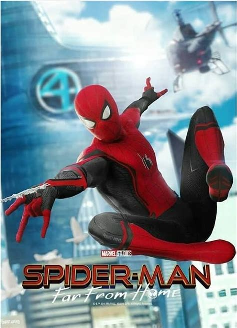 fan  poster  spider man   home